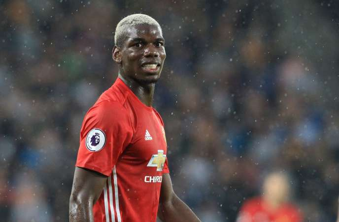 Paul Pogba, lors du match Hull City-Manchester United, à Kingston-upon-Hull (nord-est de l'Angleterre), le 27 août.
