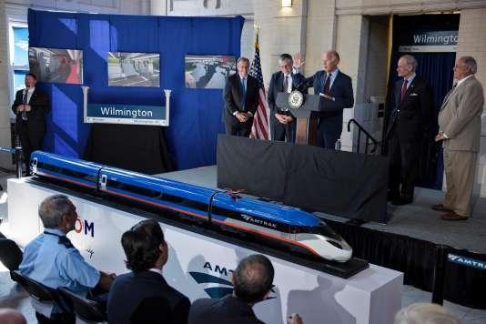 C'est le vice-président des Etats-Unis, Joe Biden en personne, qui a annoncé la signature du contrat, à Wilmington, dans le Delaware, vendredi 26 août.