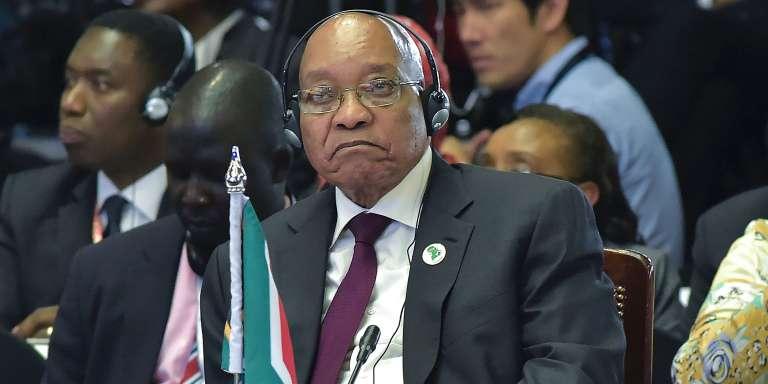 Le président sud-africain Jacob Zuma lors du dernier sommet Japon-Afrique, à Nairobi, le 28 août 2016.