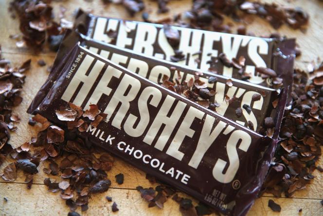 Barres de chocolats Hershey's.