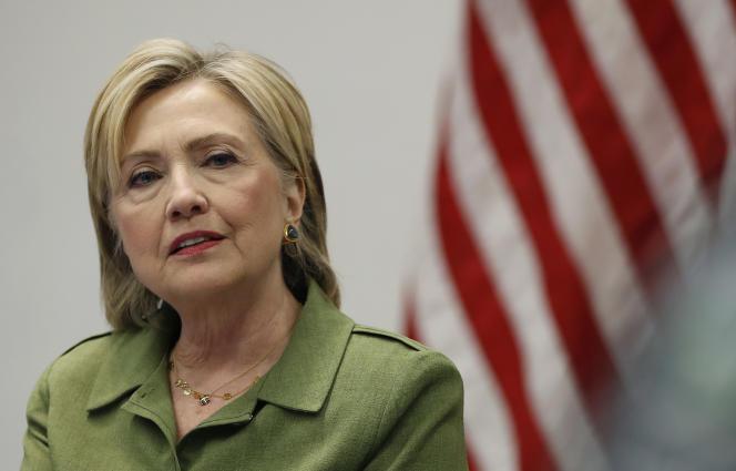 La candidate démocrate à l'élection présidentielle américaine Hillary Clinton, le 18 août.