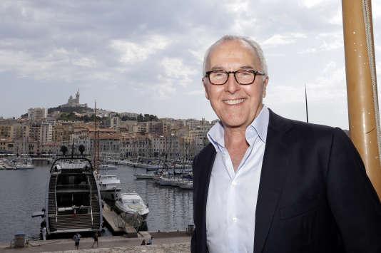 L'Américain Frank McCourt, futur propriétaire de l'OM, à Marseille, le 29 août.