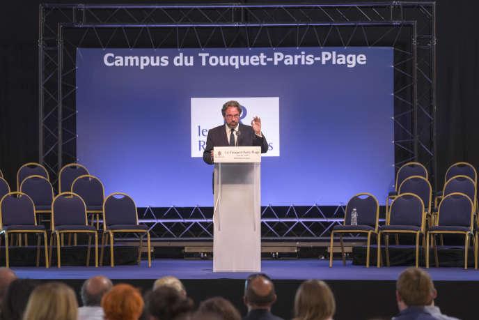 Discours de Frédéric Lefebvre, au Touquet le 27 août 2016, lors du campus des Jeunes Républicains.