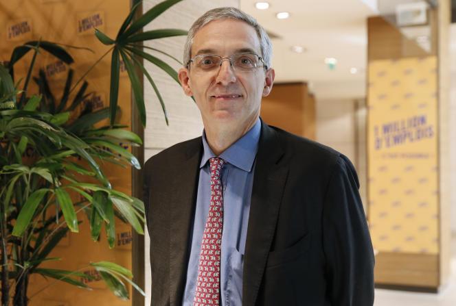 Alexandre Saubot,à la tête de l'UIMM, incarne le pôle social du Medef.