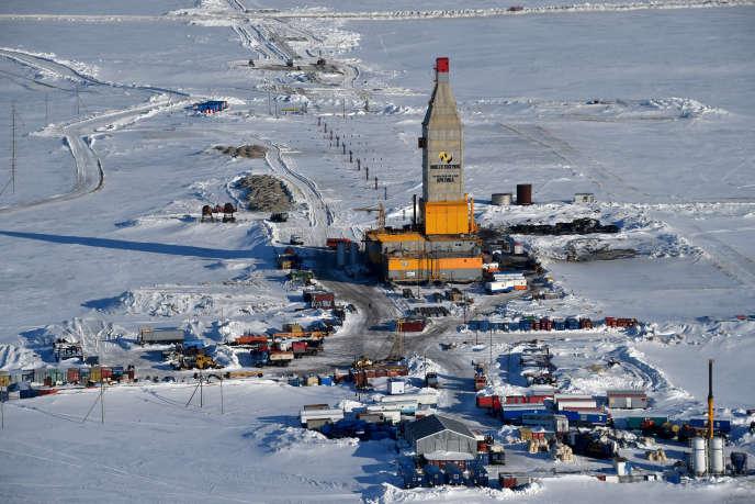 Arctic LNG 2 est situé sur la péninsule de Gydan, dans le nord de la Sibérie, à une trentaine de kilomètres de Yamal LNG (photo).