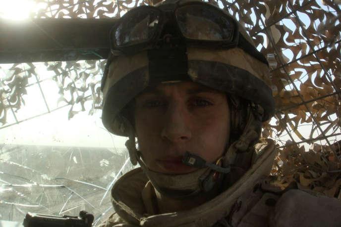 Harry Parker, en Afghanistan, entre 2007 et 2009.