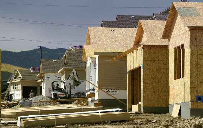Construction de maisons individuelles.