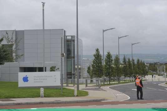Une usine Apple Operations International, à Cork, dans le sud de l'Irlande, le30août2016.