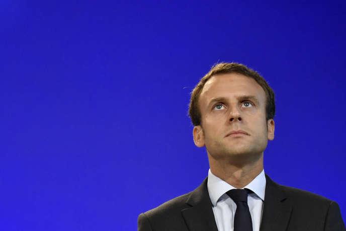 Emmanuel Macron, le 31 août 2016.