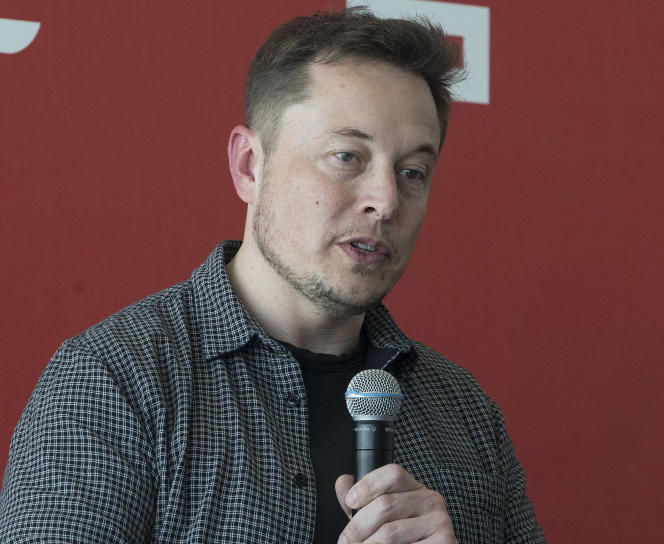 Elon Musk, en juillet.
