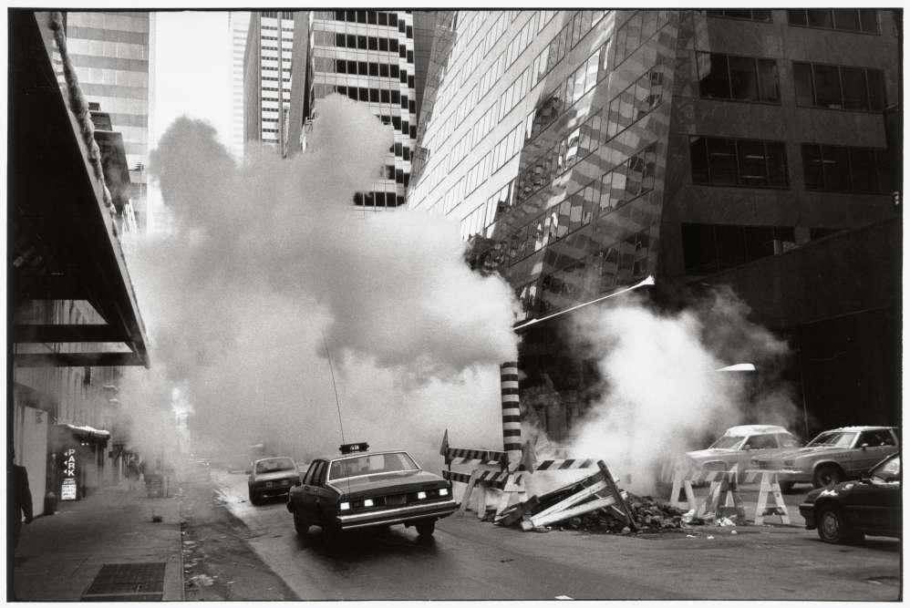 New York, 1987 : « Ce n'est pas de la fumée polluante, mais la vapeur du chauffage urbain.»