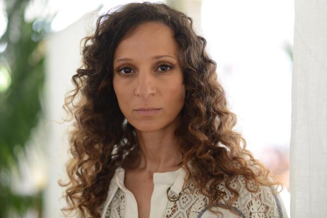 Houda Benyamina à Cannes, le 19 mai 2016.