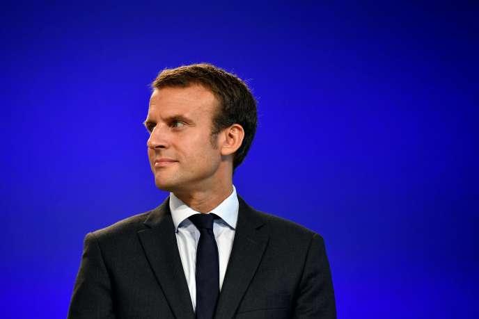Emmanuel Macron,le 31 août.
