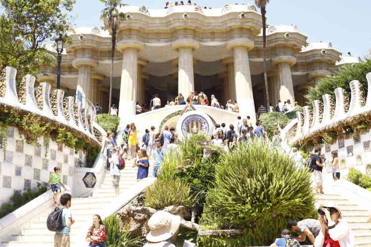 Le parc Güell.