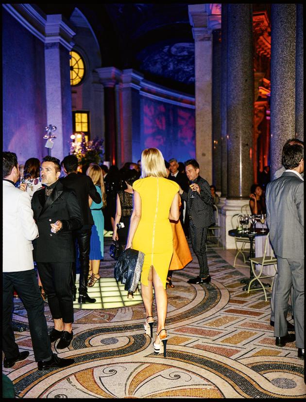 Le cocktail de la Fédération française de couture, au Petit Palais, le 6 juillet pour célébrer la clôture de la Fashion Week automne-hiver 2016-2017.