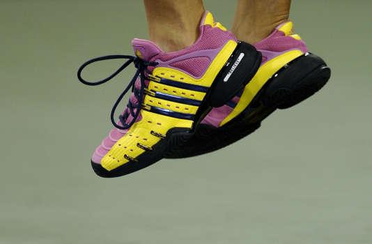 Les ventes de chaussures de sport représentaient un chiffre d'affaires de 2,7milliards d'euros en 2014-2015.