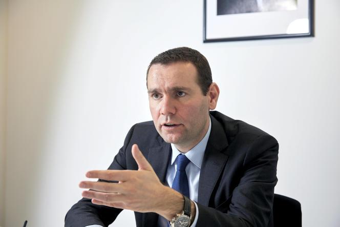 Alexandre Ricard, le patron du groupe Pernod Ricard, en avril.