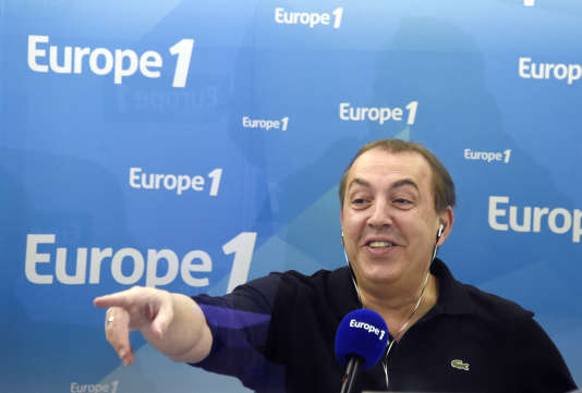 L'animateur Jean-Marc Morandini en mars 2015 à Europe 1.