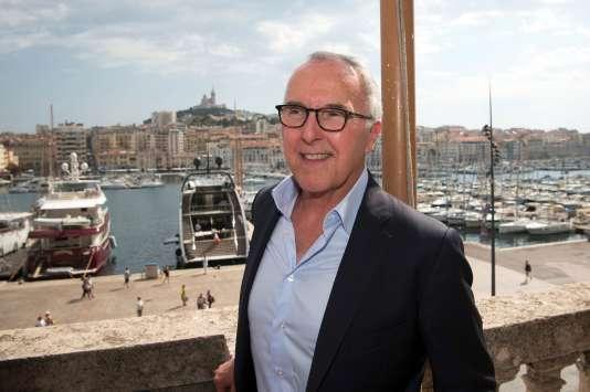 Frank McCourt, le 29 août à Marseille.