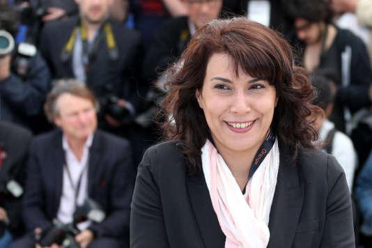 Nadia Khiari, à Cannes, le 20 mai 2013.