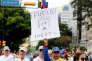 «L'économie non pétrolière a été littéralement détruite et en même temps la dette externe a été multipliée par cinq depuis 2006» (Photo: manifestants hostiles au président Nicolas Maduro, à Caracas, le 1er septembre).