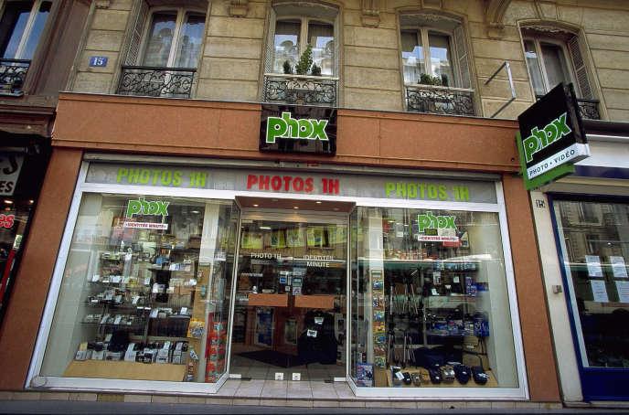 Les boutiques Phox appartiennent toutes à des propriétaires indépendants. Ici, à Paris.