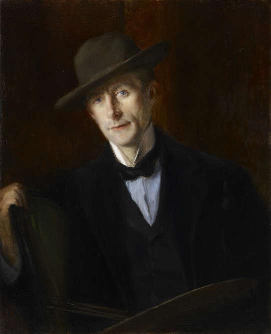 Cette toile représente le peintre tel qu'il était perçu par ses contemporains et ses proches : sombre, mystérieux et énigmatique.