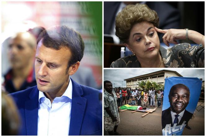 Démission de Macron, violences au Gabon, Dilma Rousseff destituée au Brésil... Résumé des principales informations des derniers jours.