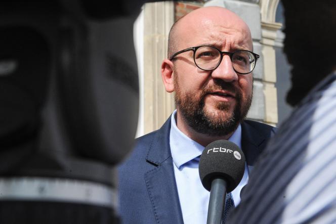 Le premier ministre belge, Charles Michel, à Namur, le 2 septembre.