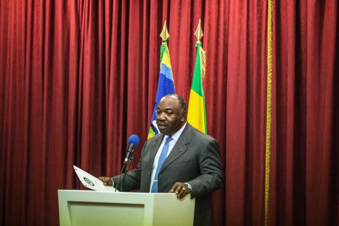 Le président réélu du Gabon, Ali Bongo, le 1er septembre.