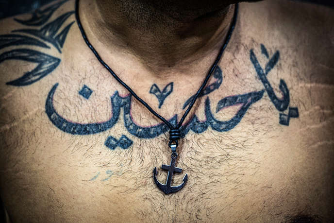 au liban le tatouage religieux la mode chez les chiites. Black Bedroom Furniture Sets. Home Design Ideas