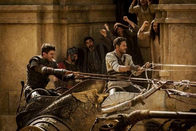 Toby Kebbell et Jack Huston dans le film américain de Timur Bekmanbetov, «Ben-Hur».