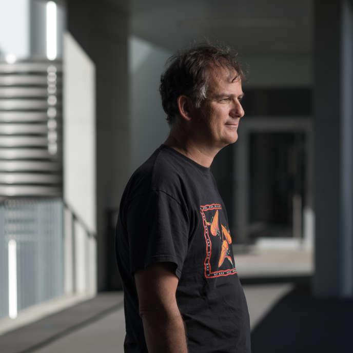 Bruno Lemaitre, professeur au Global Health Institute de l'EPFL, Lausanne, 23 août.