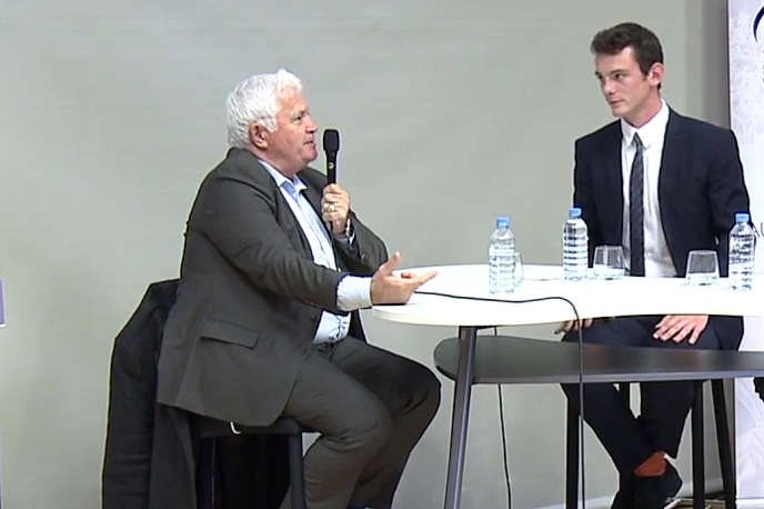 Bernard Barbier reçu par Symposium Centrale-Supélec à Châtenay-Malabry le 18 juin 2016.
