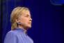 La candidate démocrate à la présidentielle de novembre, Hillary Clinton, lors de la Convention nationale de la Légion américaine, àCincinnati, dans l'Ohio, le 31 août.