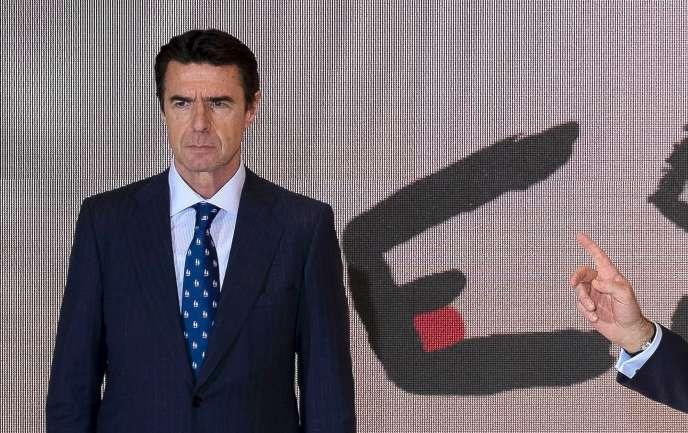 José Manuel Soria, ancien ministre de l'industrie espagnole, épinglé dans les« Panama papers», le 28 janvier 2015.