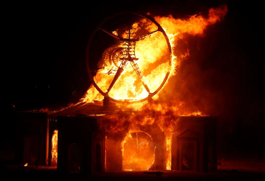 Le fameux Burning Man.
