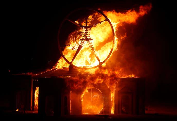 Le fameux Burning Man.