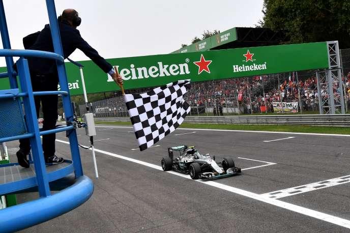 Le grand prix de F1 d'Italie, à Monza, le 4 septembre.