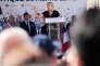 Rentrée politique de Marine Le Pen à Brachay, le 3 septembre.