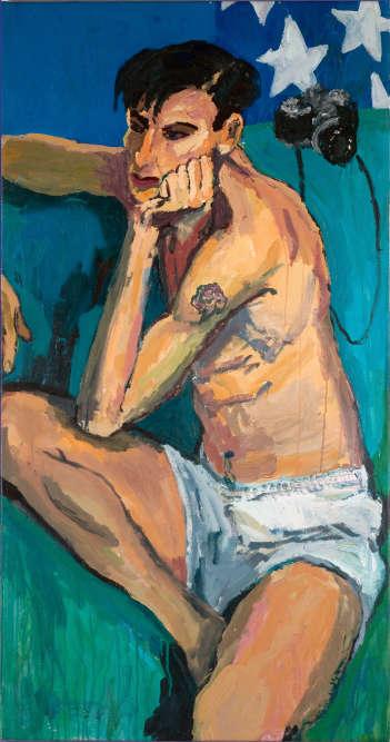 «Mark Morrisroe», 1985.