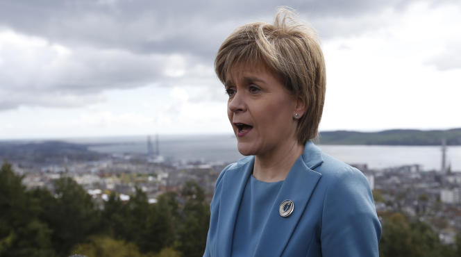 La première ministre d'Ecosse, Nicola Sturgeon.