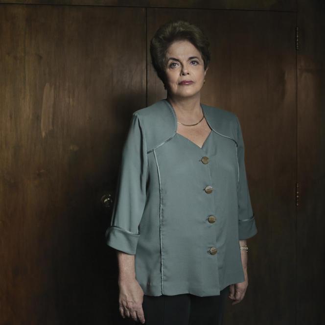 L'ancienne présidente du Brésil, Dilma Rousseff.