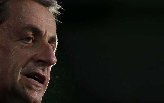 Nicolas Sarkozy à POissy, le 6 septembre 2016.