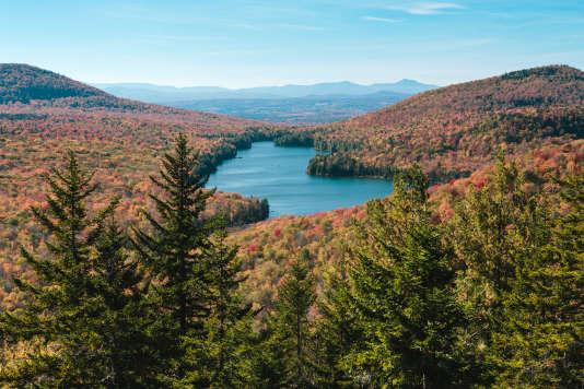 La Groton State Forest, dans le Vermont, en octobre 2014.