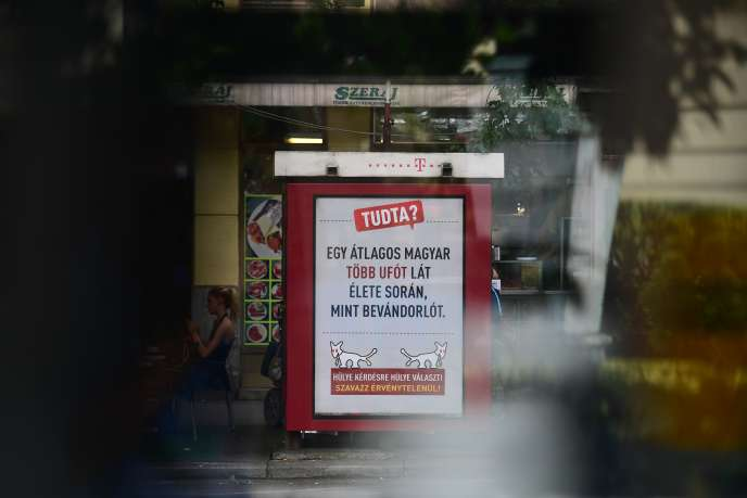 A un mois d'un référendum sur la répartition des réfugiés dans l'UE organisé par Viktor Orban, un parti satirique hongrois a décidé de répliquer.