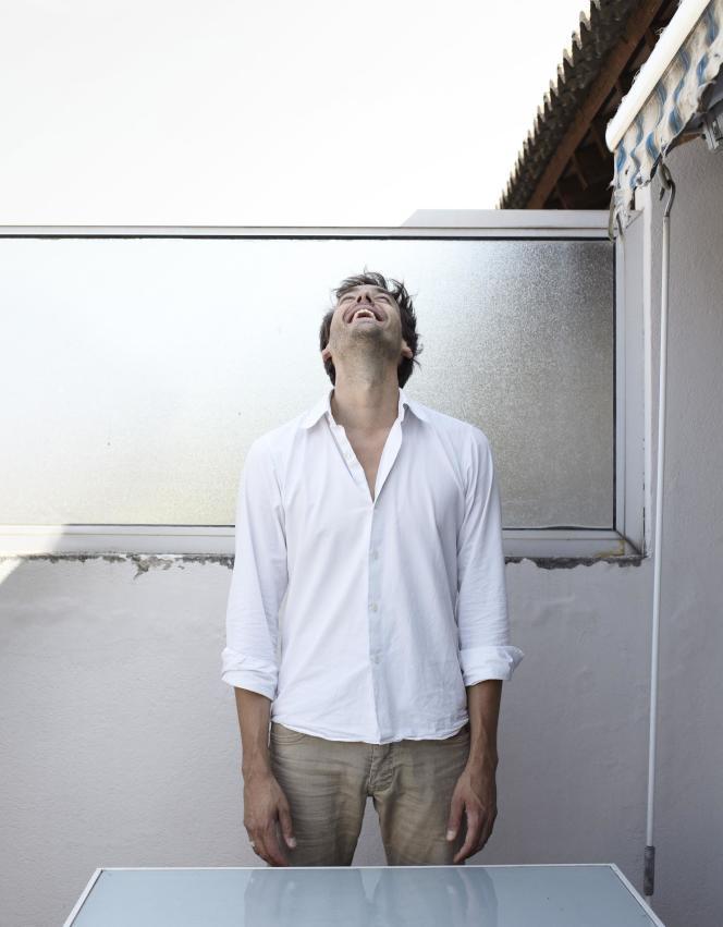 Emmanuel Noblet à Avignon en juillet 2015.