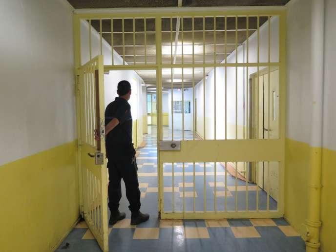 Dans l'unité destinée aux détenus radicalisés delamaison d'arrêtd'Osny.