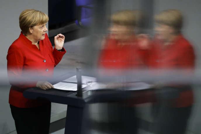 Angela Merkel, le 7 septembre à Berlin.