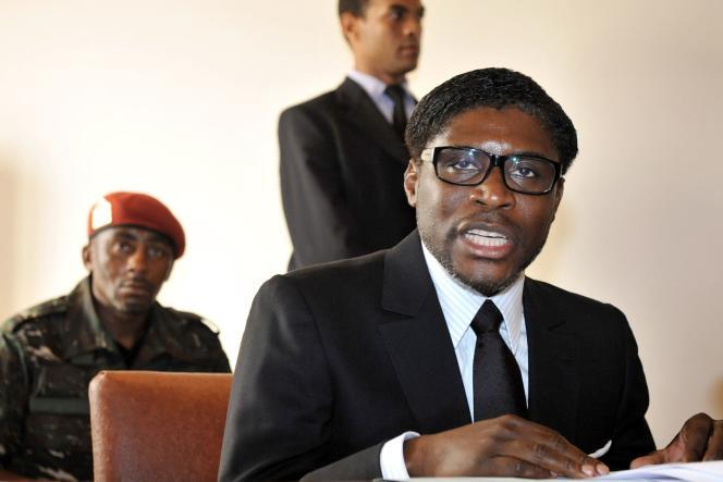 Teodorin Obiang, le 24 janvier 2012.